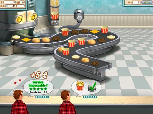 jeux burger