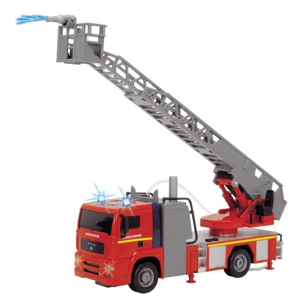 jeux camion de pompier