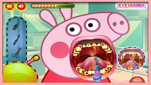 jeux chez le dentiste