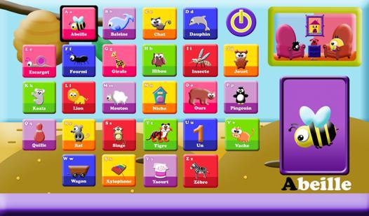 jeux de alphabet francais