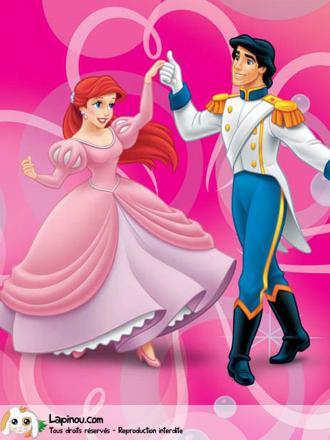 jeux de ariel et son prince
