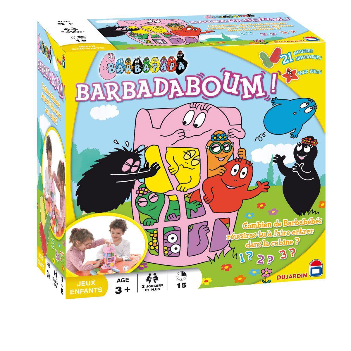 jeux de barbapapa