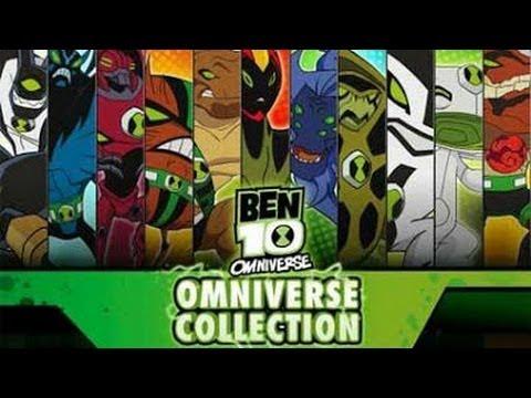jeux de ben ten omniverse