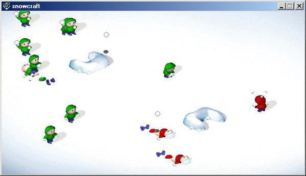jeux de boules de neige