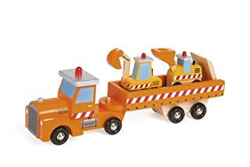jeux de camion de bois