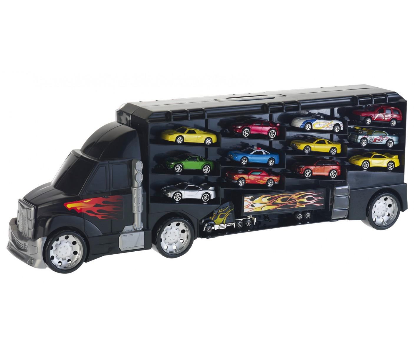 jeux de camion de transport de voiture