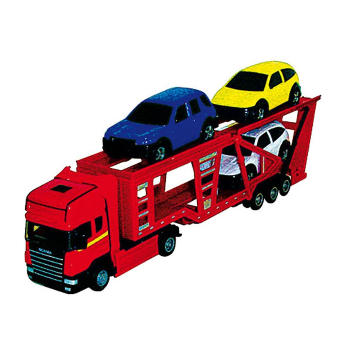 jeux de camion qui transporte des voitures