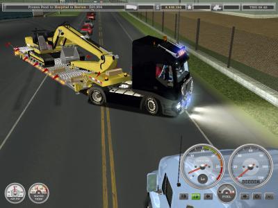 jeux de camion remorque