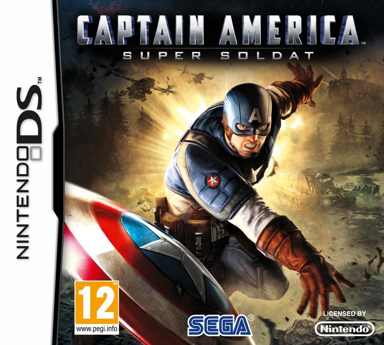 jeux de captain america