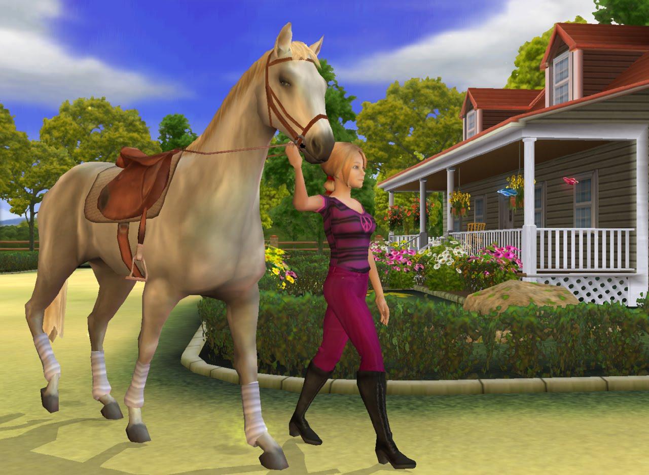jeux de cheval a monter