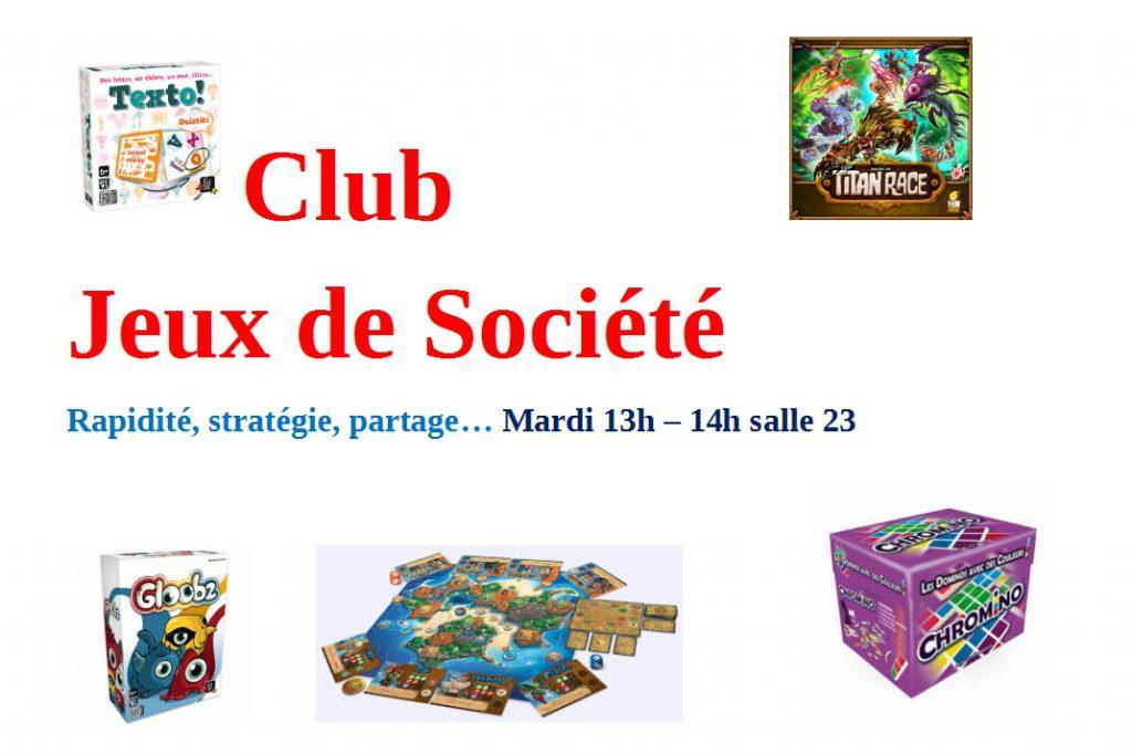 jeux de club