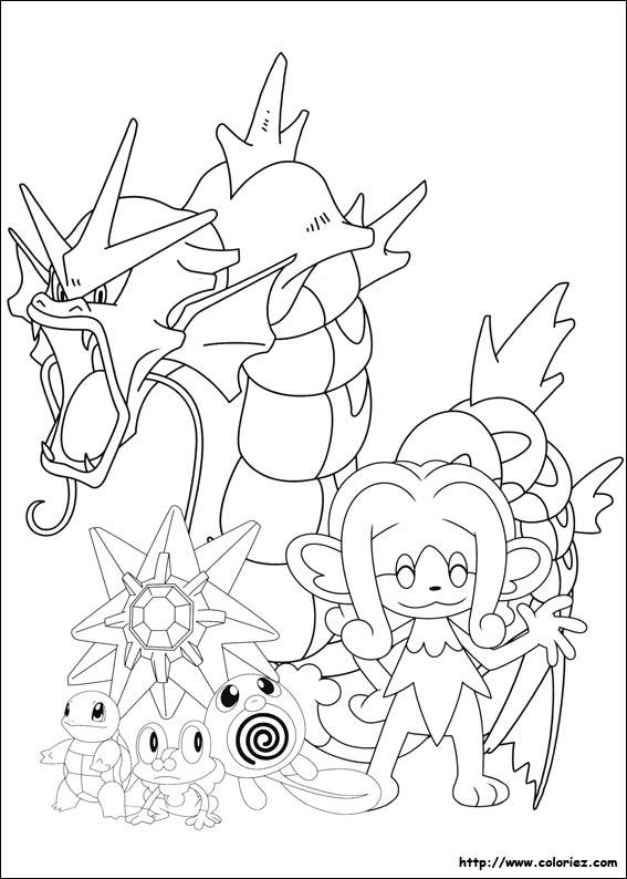 jeux de coloriage de pokémon