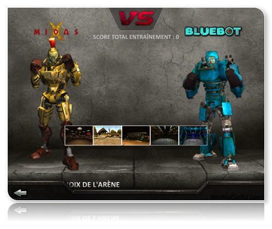 jeux de combat robot