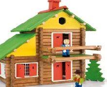 jeux de construction de maison en bois