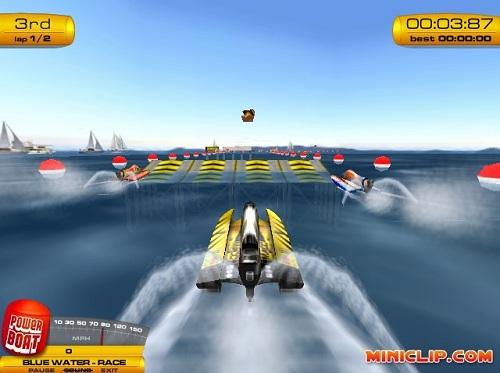 jeux de course de bateau