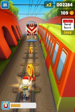 jeux de course de train