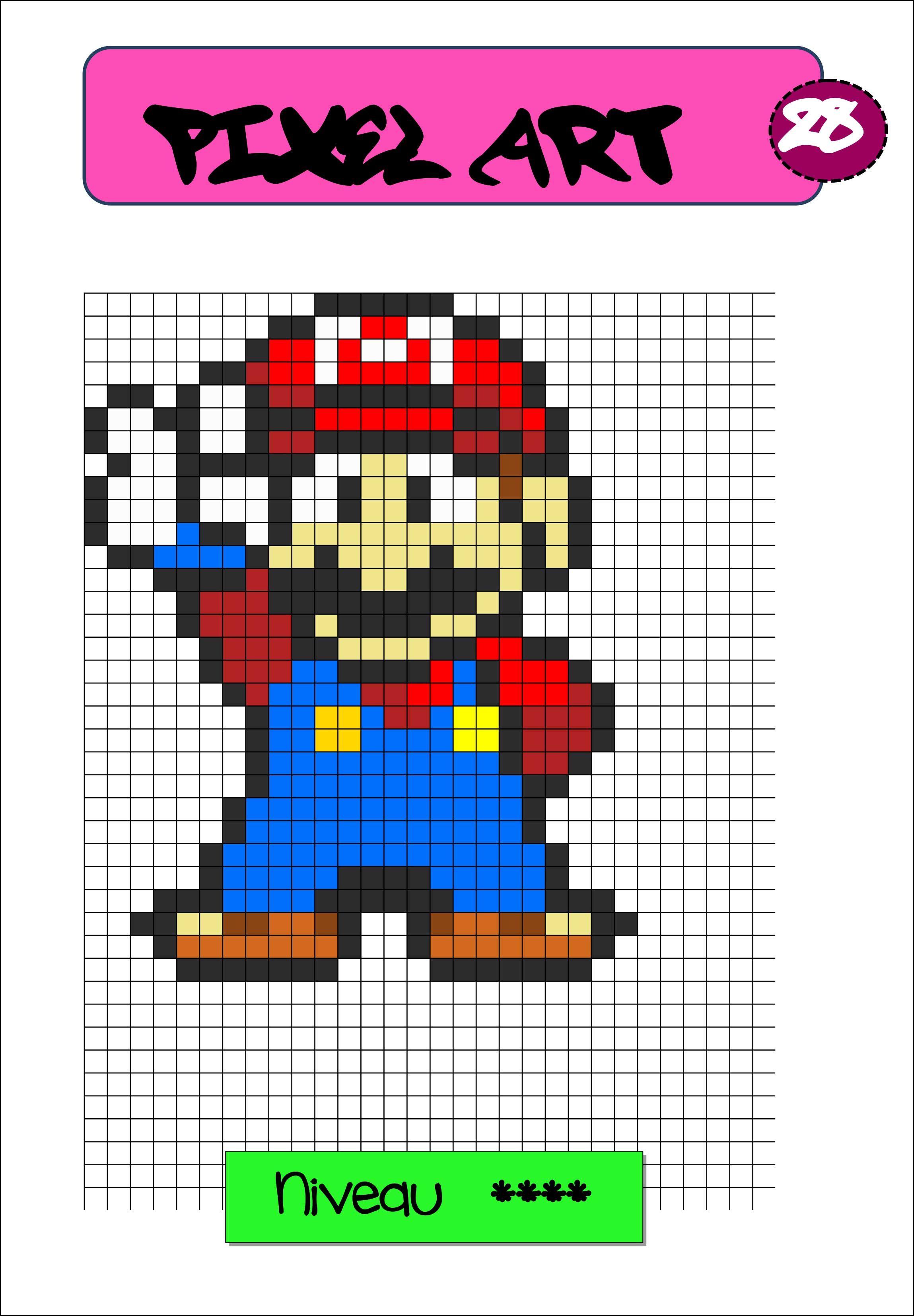 jeux de dessin pixel art gratuit
