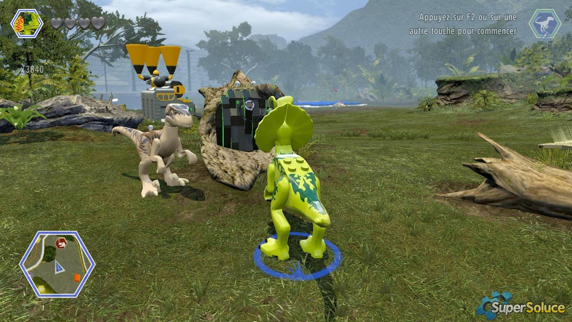 jeux de dinosaures lego