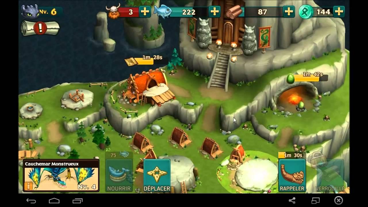 jeux de dragon cavalier de beurk