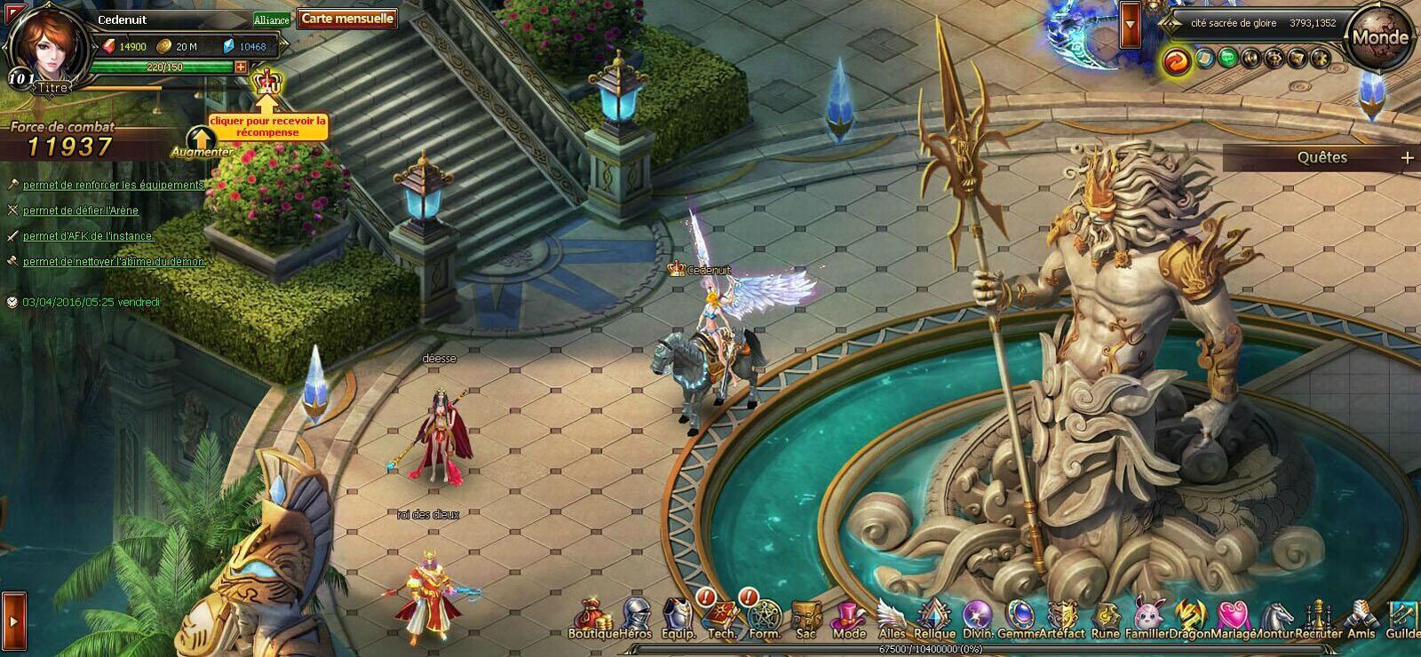 jeux de dragon et chevalier