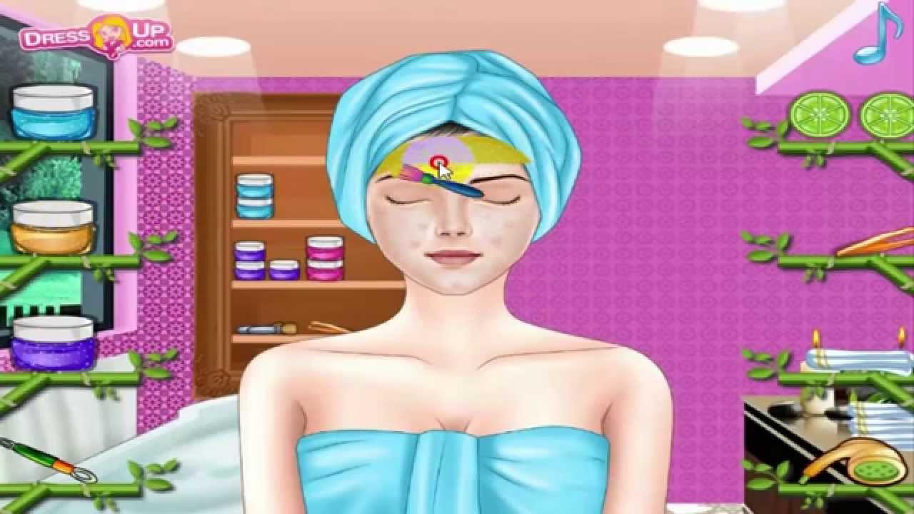 jeux de fille et de maquillage