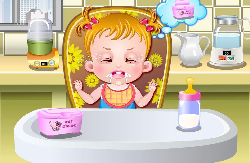 jeux de fille jeux de bébé