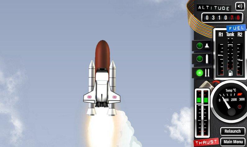 jeux de fusée decollage