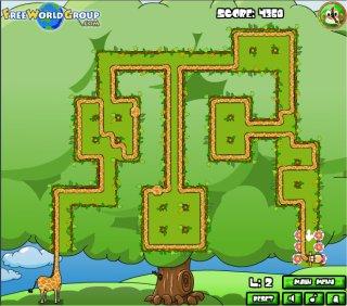 jeux de girafe gratuit