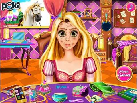 jeux de la princesse raiponce