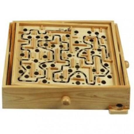 jeux de labyrinthe avec une bille