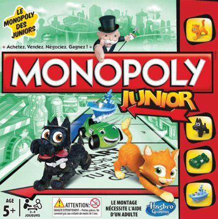 jeux de monopoly junior