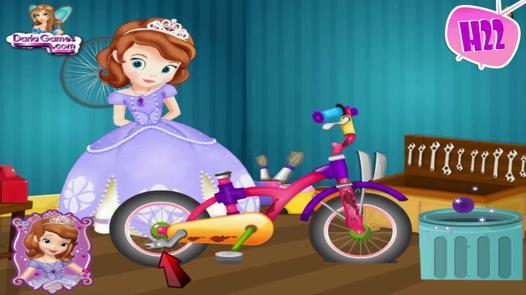 jeux de moto de fille de barbie