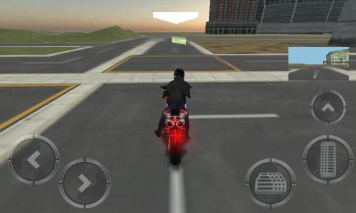 jeux de moto police poursuite