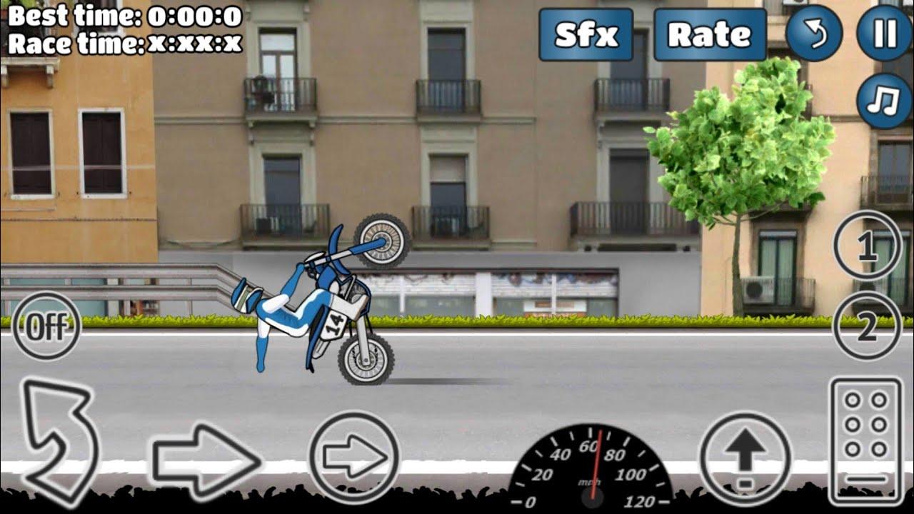 jeux de moto roue arrière