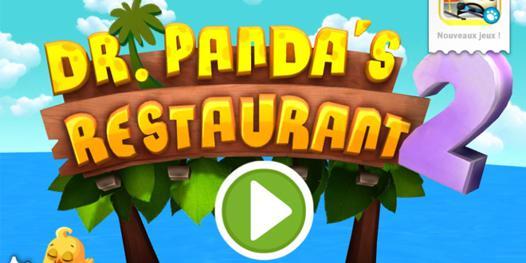 jeux de panda cuisine