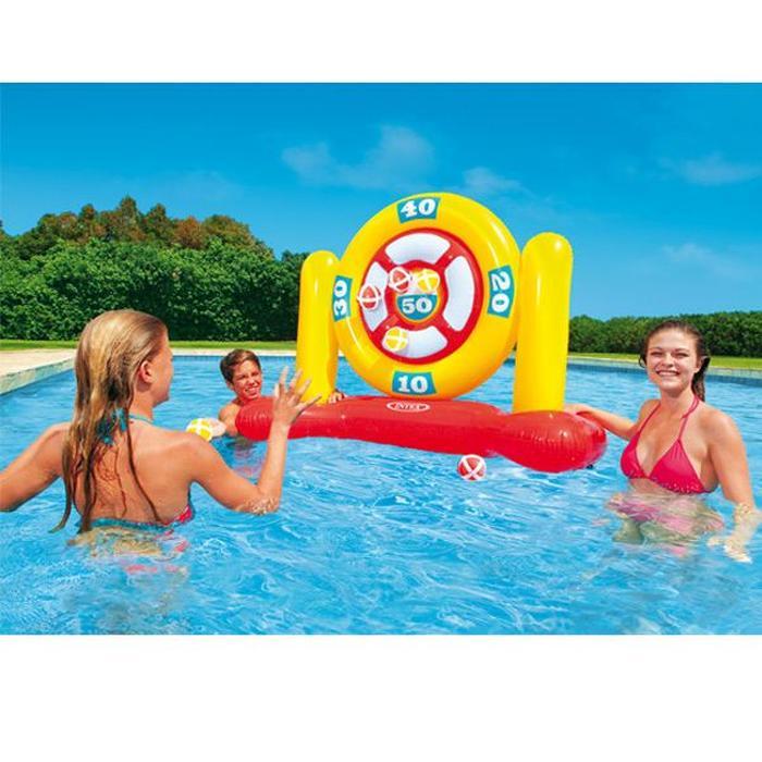 jeux de piscine gonflable