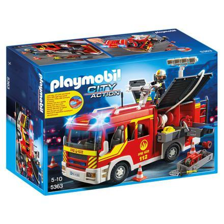 jeux de playmobil pompier