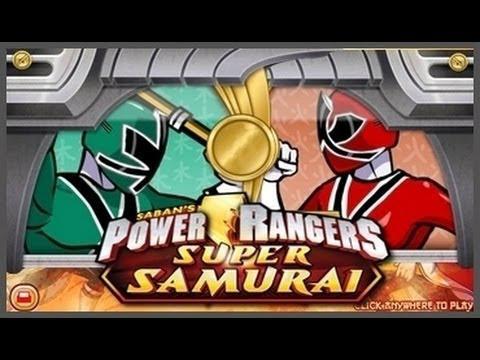 jeux de power ranger super samurai