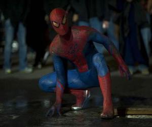 jeux de puzzle de spiderman