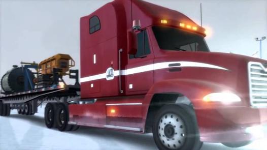 jeux de remorquage de camion
