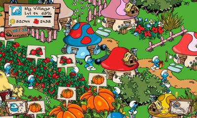 jeux de smurfs village