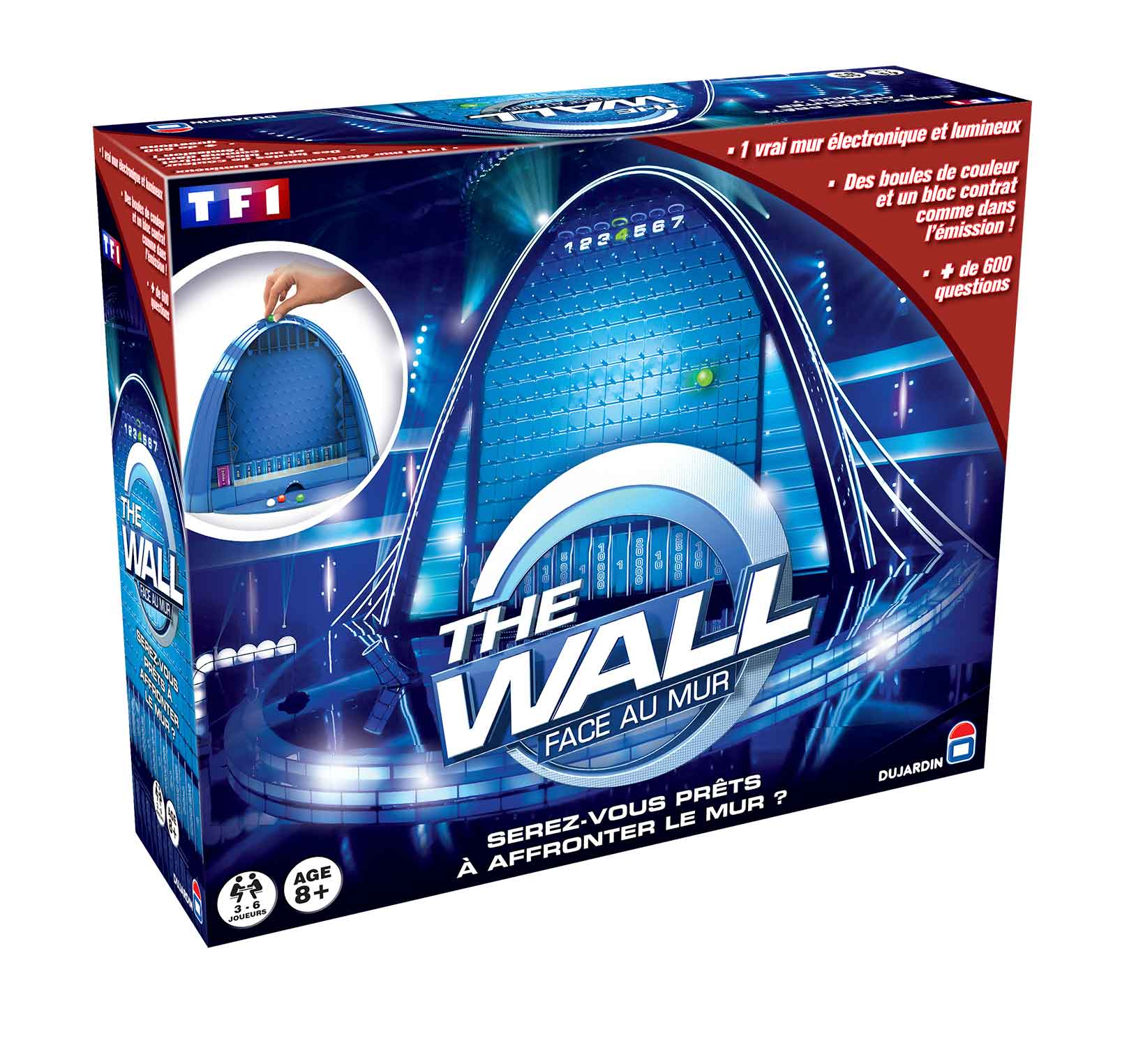 jeux de the wall face au mur