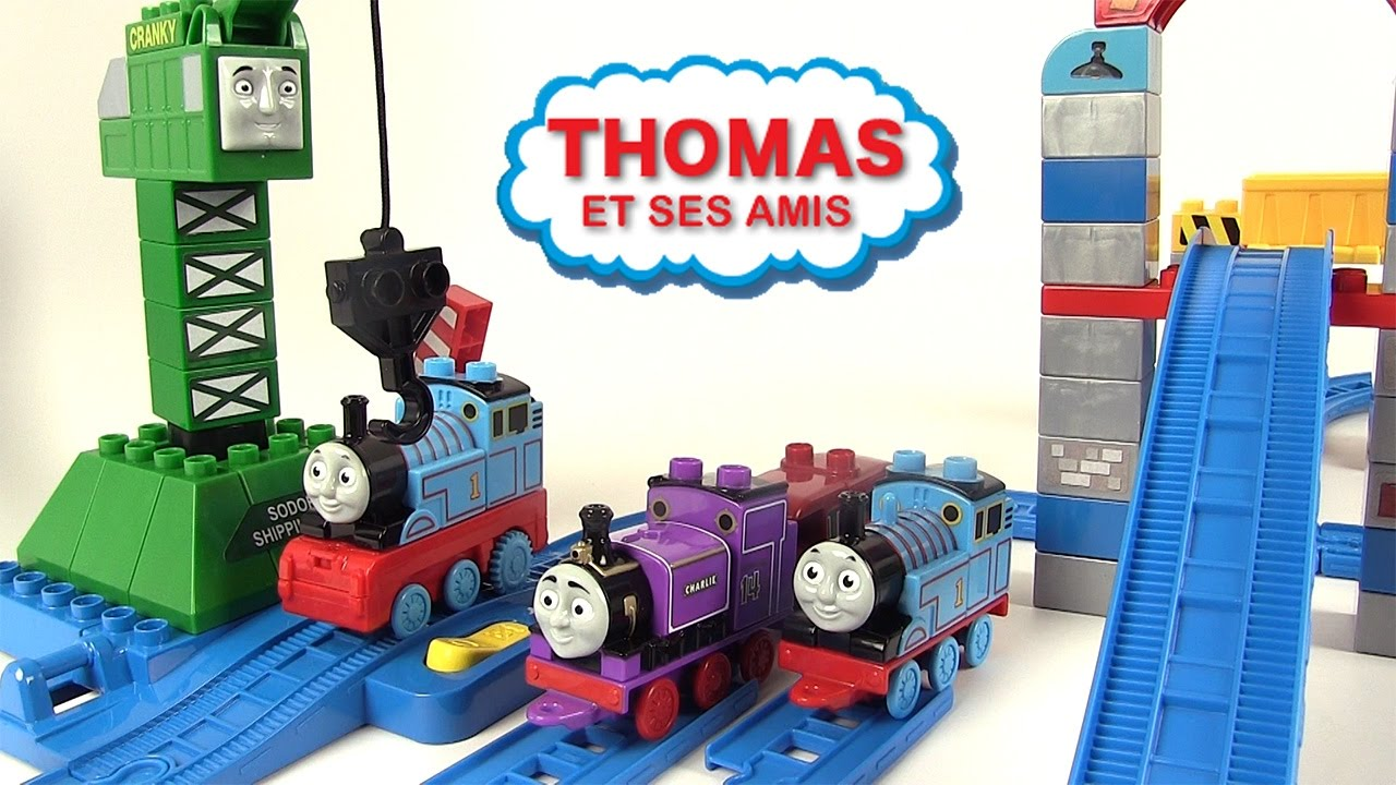 jeux de thomas le petit train
