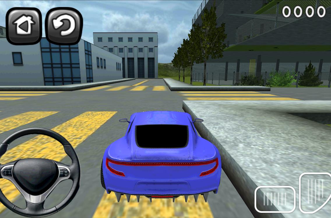 jeux de voiture a garer dans un garage