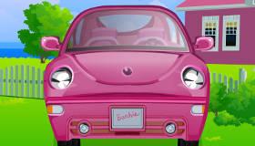 jeux de voiture de barbie