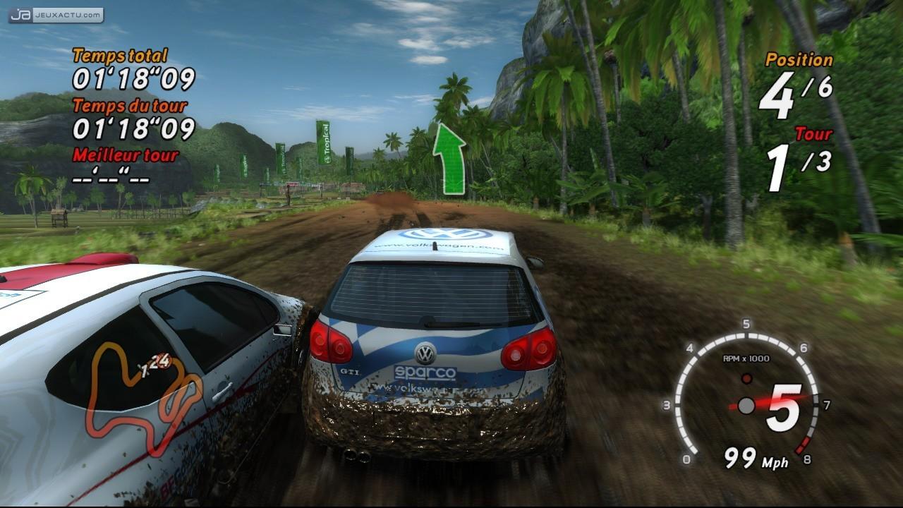 jeux de voiture rally
