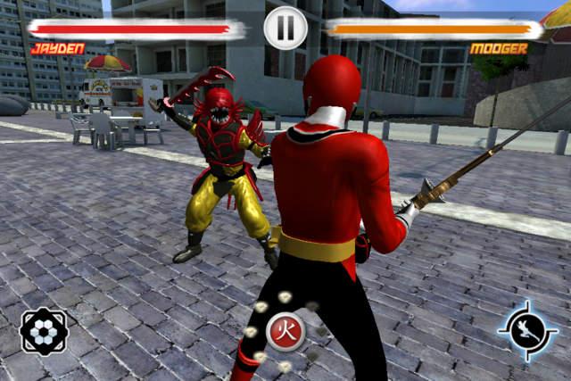 jeux des power rangers samurai