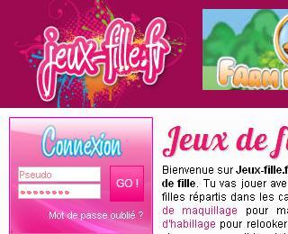 jeux fr gratuit pour fille