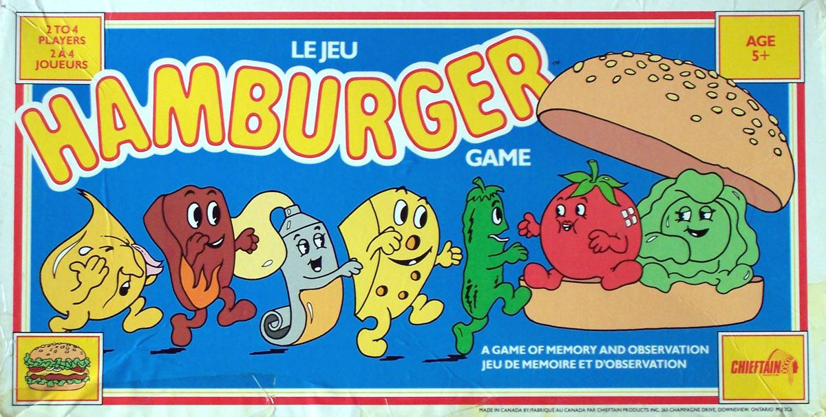 jeux hamburger