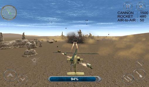 jeux hélicoptère de guerre